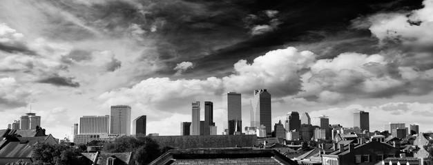 Fototapete - Blue sky over New Orleans