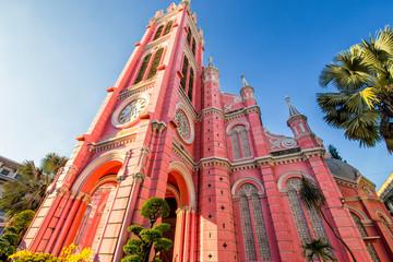 Tan Dinh Church in Ho Chi Minh Vietnam