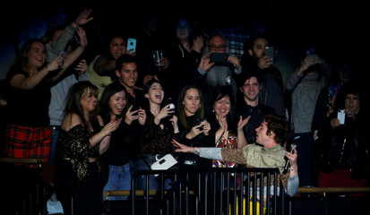 Shultz of Cage the Elephant performs during the iHeartRadio Alter Ego concert at The Forum in Inglewood