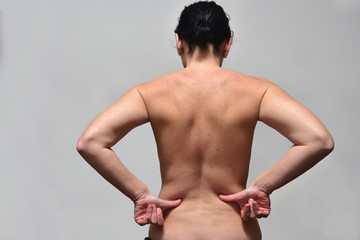 middle aget woman with low back pain