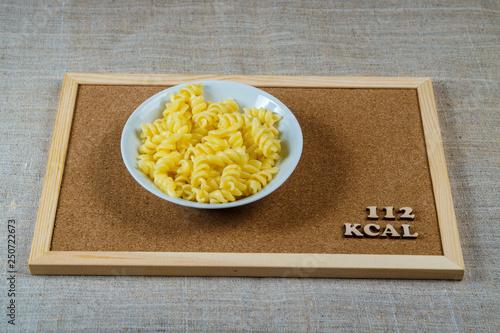 100 g pasta kcal