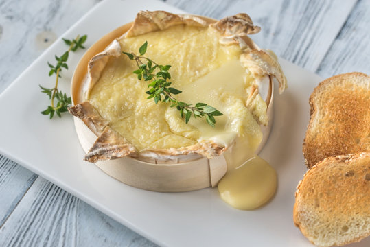 Baked Camembert cheese
