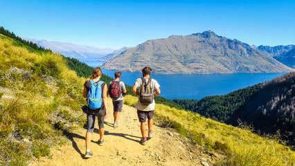 Hiking Ben Lomond in Queenstown, New-Zealand