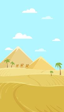 vector illustration of Egypt