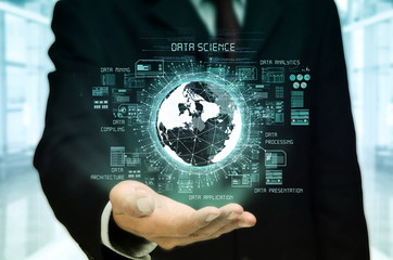 Wall Mural - Data Science Concept