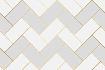 Obraz Seamless herringbone vector pattern - fototapety do salonu