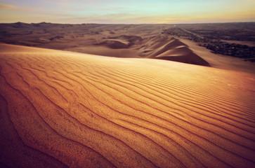 Ica Desert Peru Fotoväggar