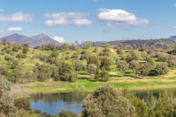 Glenbawn Dam, Upper Hunter, NSW, Australia is a popular inland fishing and recreation destination near Scone.