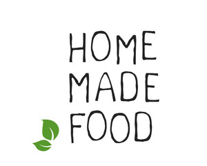 Home made food label and high quality product badges. Bio Organic product Pure healthy Eco food organic, bio and natural product icon. Emblems for cafe, packaging etc. Vector