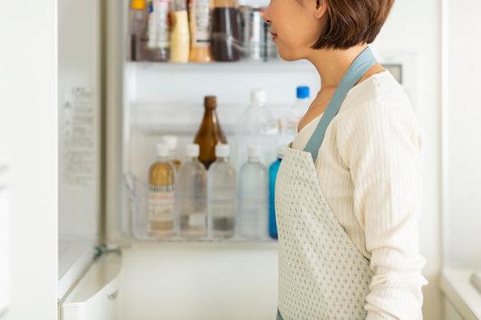 主婦 冷蔵庫