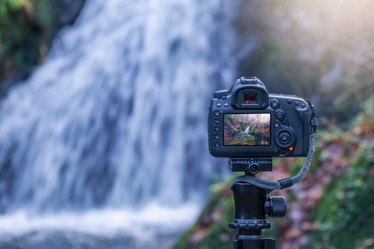 Wasserfall fotografiern