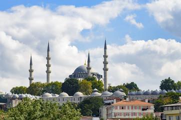 Landscape of the Suleymaniye Mosque