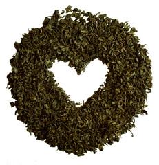 Green tea, heart