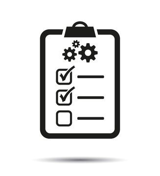 Technical support check list Icon.