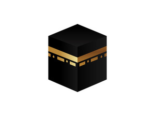 Vector symbol of the holy tomb of the Prophet Muhammad