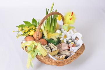 Obraz Wielkanocny koszyczek - święconka - fototapety do salonu