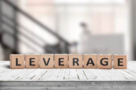 Leverage sign in a office environment
