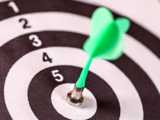 The image of a darts target