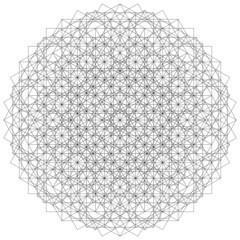 Sacred Geometric Mandala Energy Field