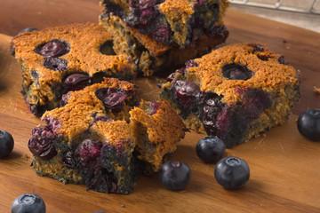 Blueberry square bars