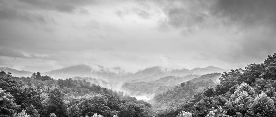 Clearing Storm in The Smoky Mountains