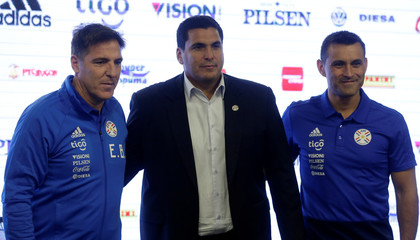 Paraguay - Eduardo Berizzo presented as new Paraguay national team coach