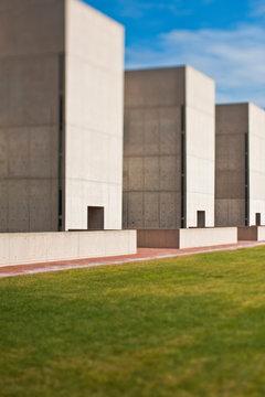 Row of Modern Buildings