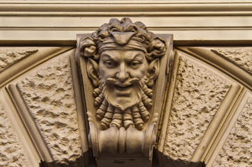 Carved Face