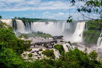 Iguazu Falls, Walkway, Brazil