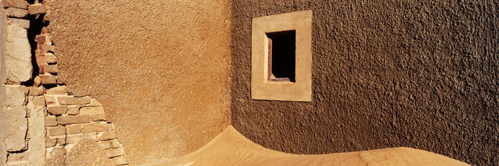 Desert Sand in Abandoned Building