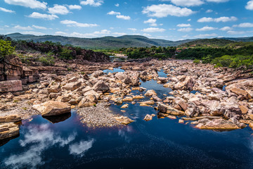 Paraguacu river, Chapada Diamantina, Bahia, Brazil