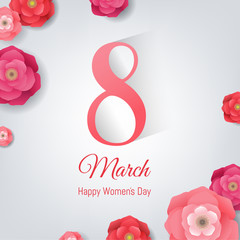 8 March Women's Day Card