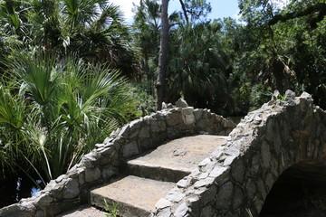 Stone Bridge in a park