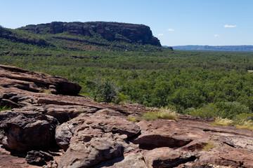 Okolice Nourlangie Rock, Park Narodowy Kakadu, NT, Australia
