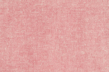 Closeup pink rose color fabric texture. Pink Fabric strip line pattern design or upholstery abstract background.