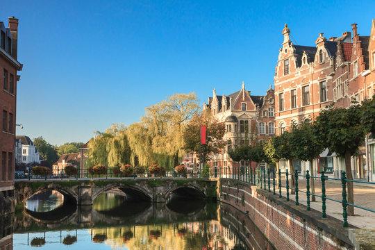Lier city, Antwerp, Belgium