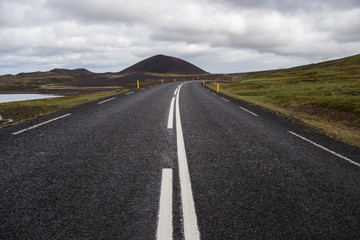 Image of road in Iceland.