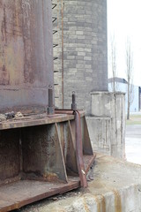 Objects of former iron and steel Works in Vítkovice, Ostrava, Czech republic