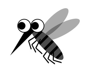 蚊のキャラクター