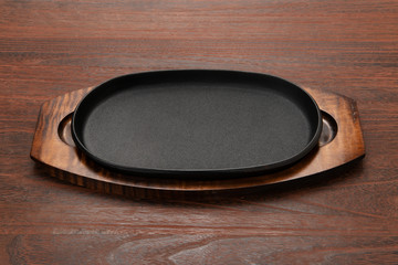 ステーキ用鉄皿