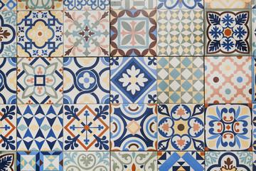 La pose en embrasure Tuiles Marocaines Texture of ceramic tiles in oriental turkish style