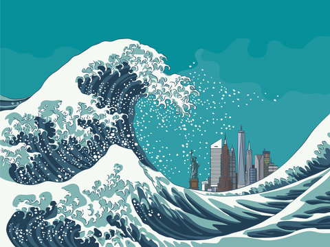 Great Wave off New York City