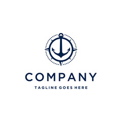 Anchor / compass logo inspiration