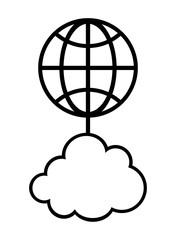 地球と繋がるクラウド