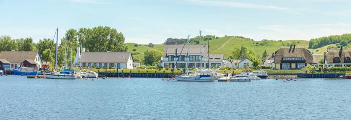 Yachthafen von Gager auf der Insel Rügen