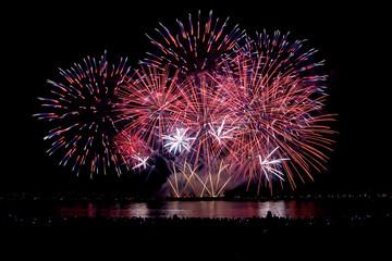 Firework display, Canada