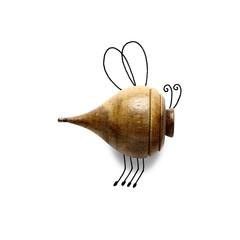 Conceptual bumble bee