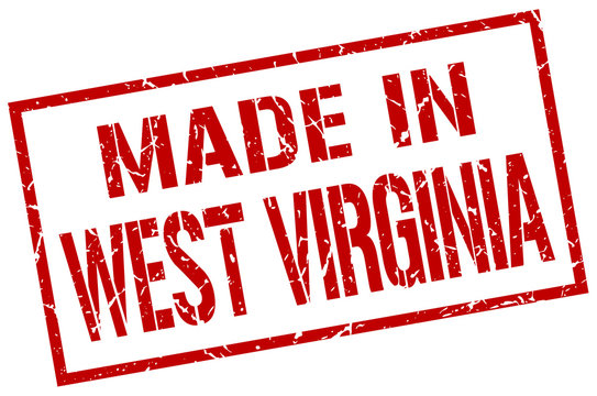 made in West Virginia stamp