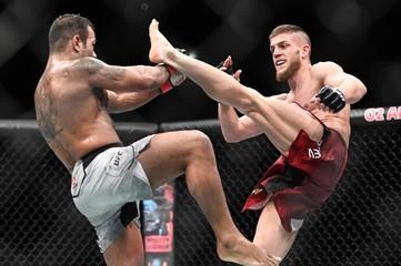MMA: UFC Fight Night-Prague-Prazeres vs Naurdiev