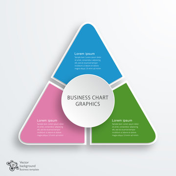Business Chart Design, Vector Graphics